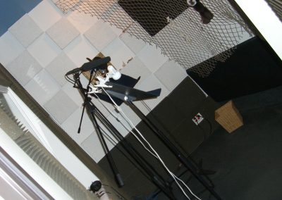 Our custom vocal booth